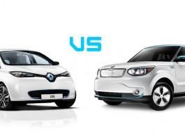Renault zoe vs Kia soul ev