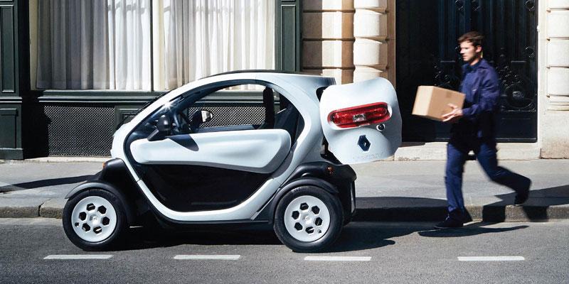 Renault twizy autonomia